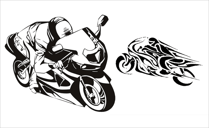 Street Bike Stickers | Mountain Bike Stickers and Decals