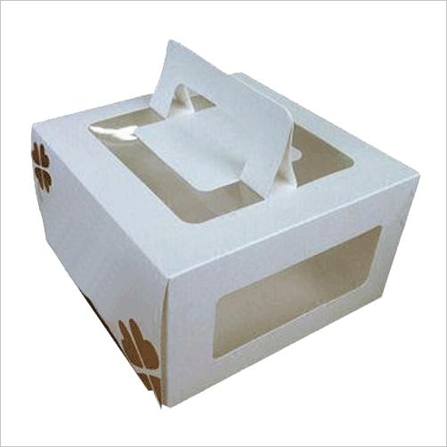 Silver Cake Boxes