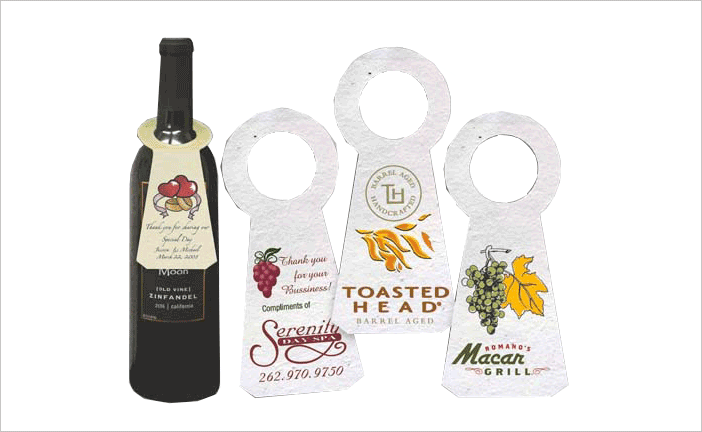 Full color printing company - Get Bottle Neckers Bottle Neck Hangers Bottle Neck Tags At Most