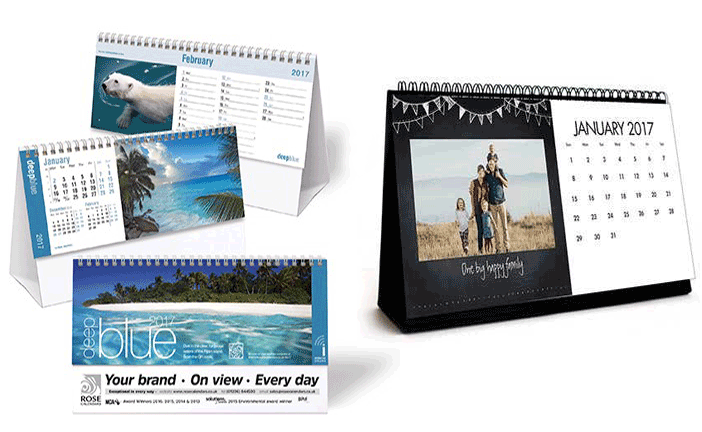 6 Page Calendars