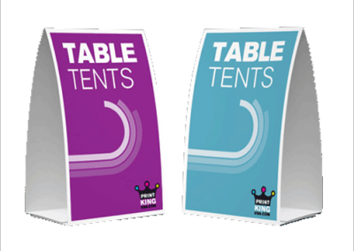 5″ x 7″ Table Tents