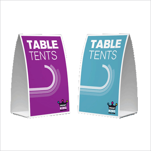 5 x 7 Table Tents & 5