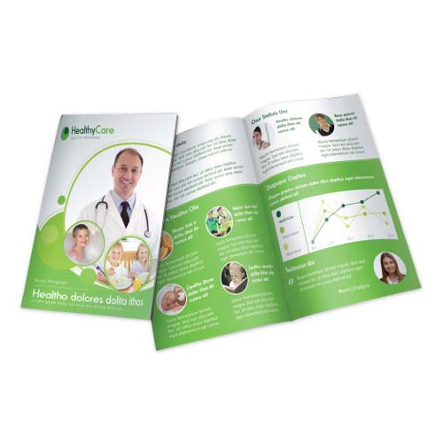 Bi Fold Brochures