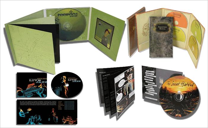 CD/DVD Booklets