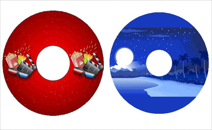 CD / DVD Stickers