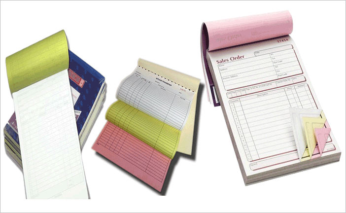 Carbonless Copy Notebook