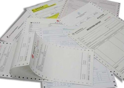 Carbonless Invoice