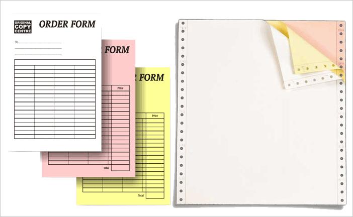 Carbonless Sheet