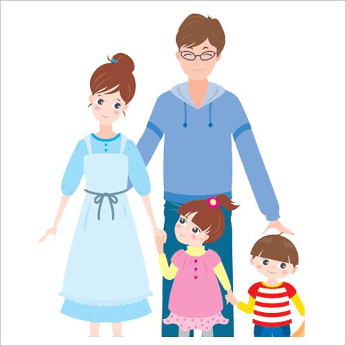 Family window stickers