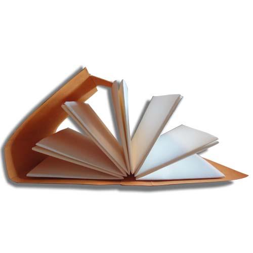 Folded booklet