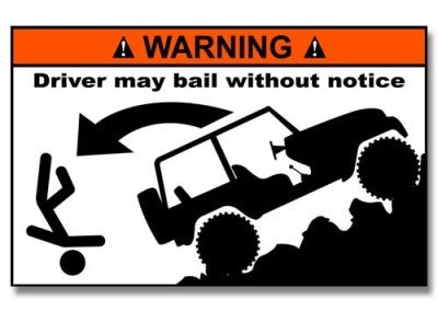 Jeep Bumper Sticker