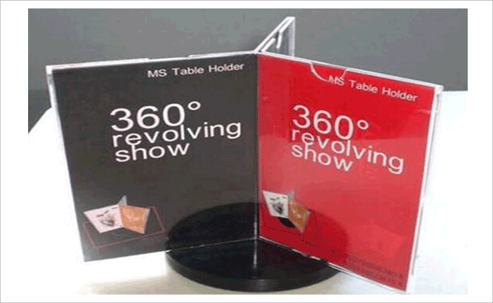 Rotating-Table-Tents