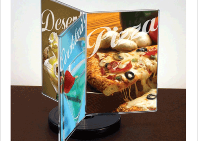 Rotating Table Tents