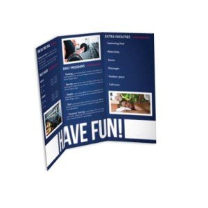 Trifold Brochure Printing Create A Trifold Brochure