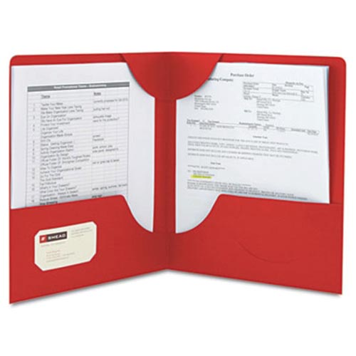Two Pocket Folders