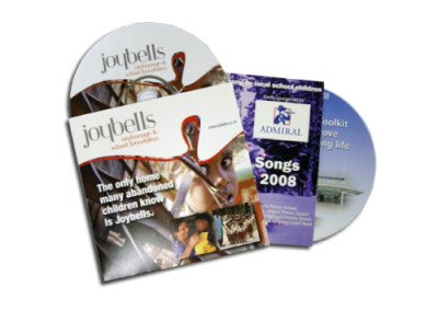 2 Panel CD / DVD Jackets