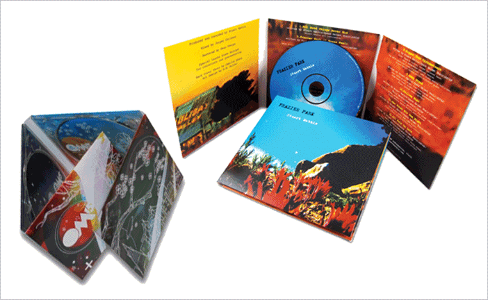 6 Panel CD / DVD Jackets