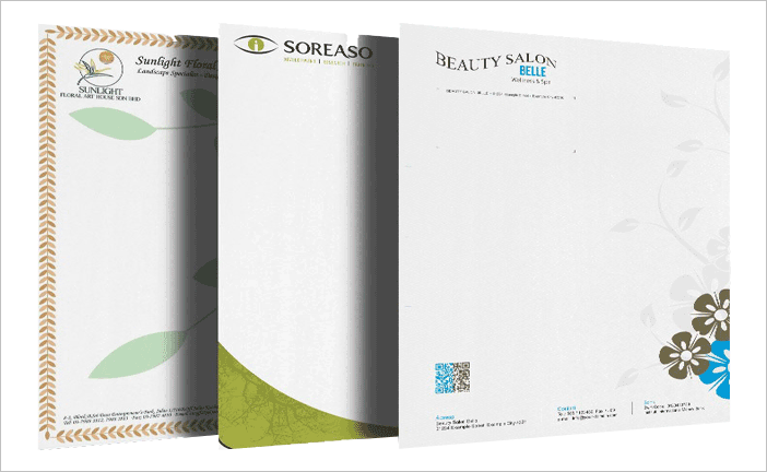 8 5 x 14 letterhead with free worldwide shipping