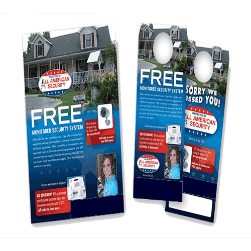Door hanger flyers custom door hanger flyers for Door 2 door leaflets