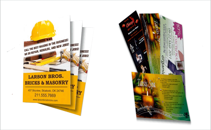 printing advertising flyers