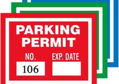 Parking Cling
