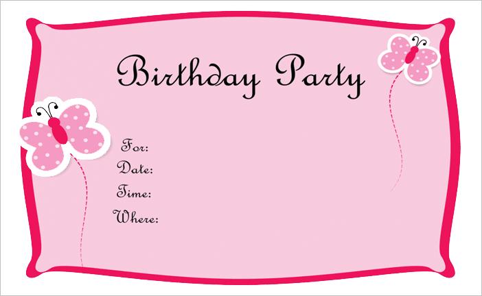 Party Invitations Printing