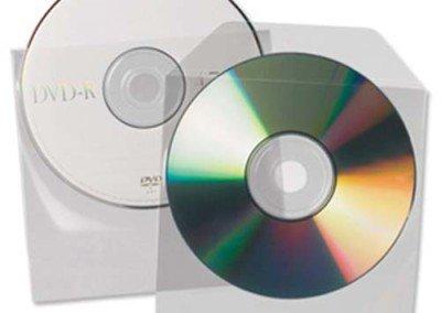 Vinyl CD DVD Sleeve