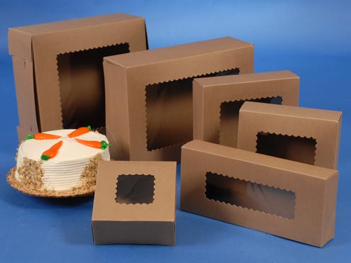 Bakery Boxes with window makes your Gift Exceptional