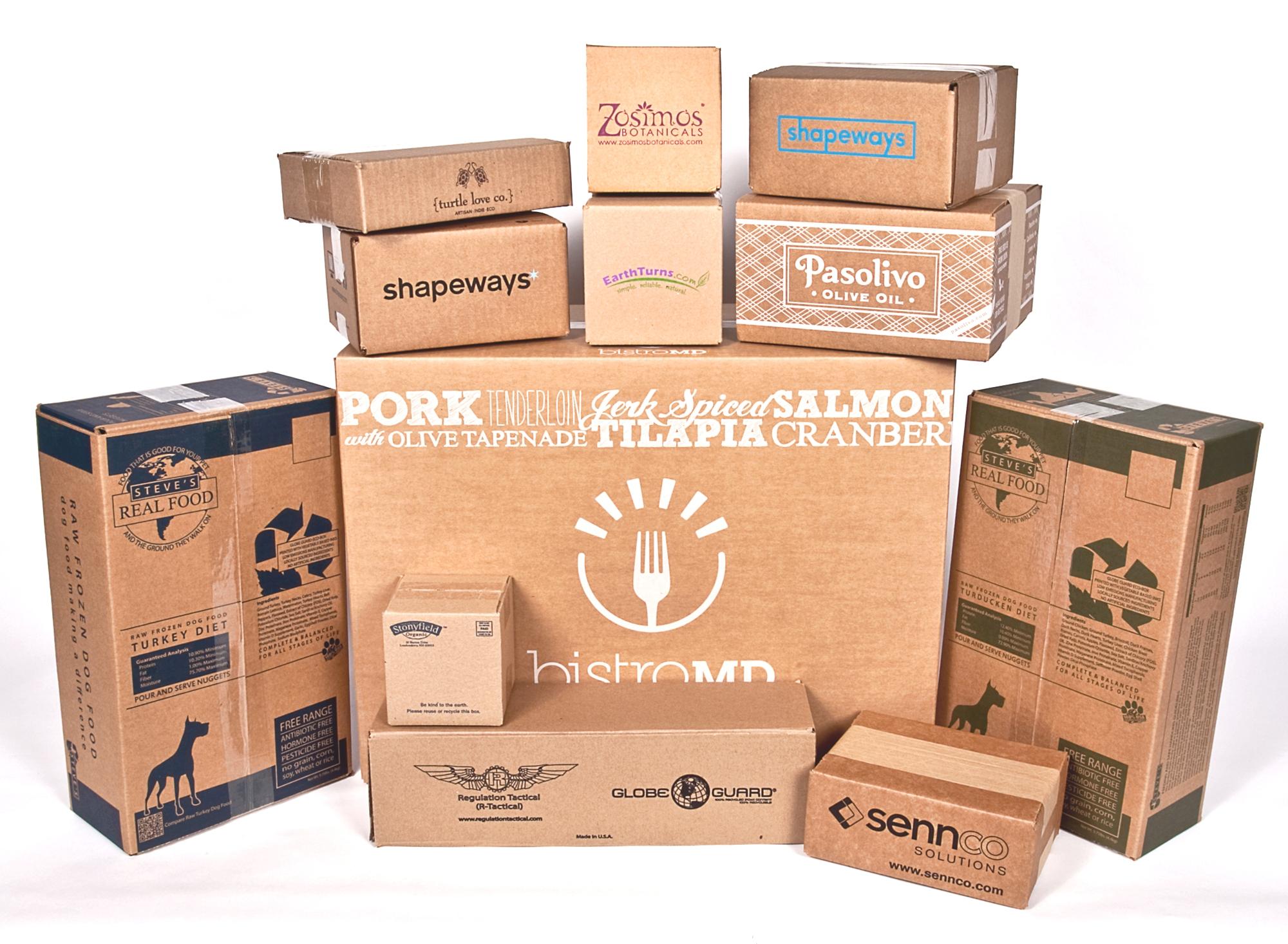 Kraft paper boxes wholesale