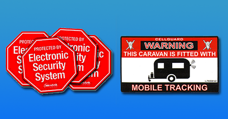 Security-system-stickers