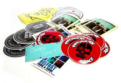 Vinyl stickers printing