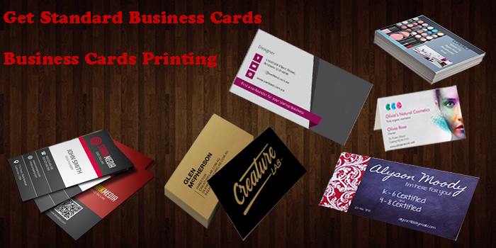 Little Known Facts About Standard business card