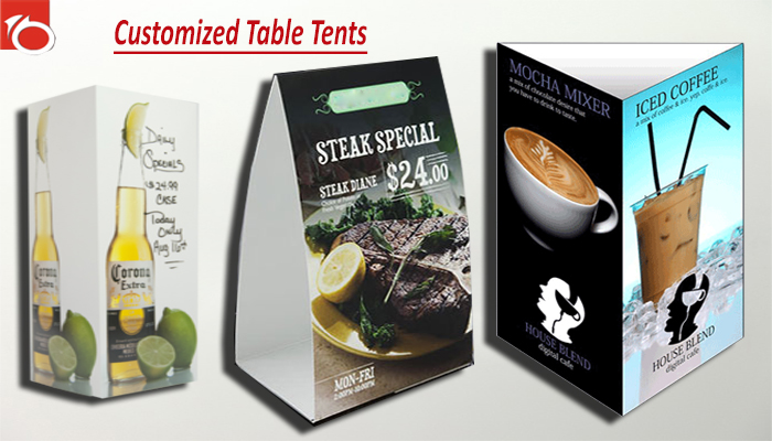 Customized Table Tents – 5 Strange Facts About These