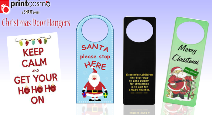 Christmas door hangers – 4 Incredible ways to use them