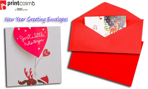 New Year Greeting Envelopes – 3 Excellent Benefits of Them