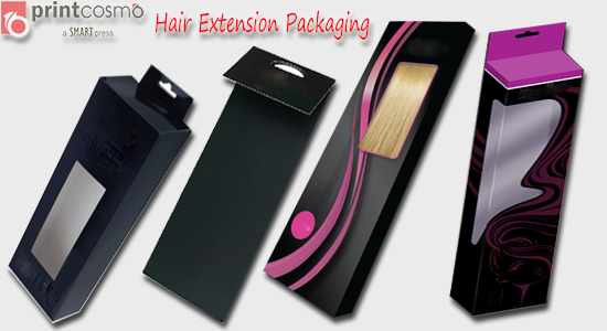 hairs extension packaging