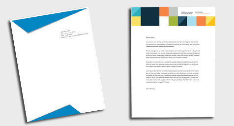 professional letterheads