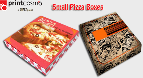 small pizza boxes