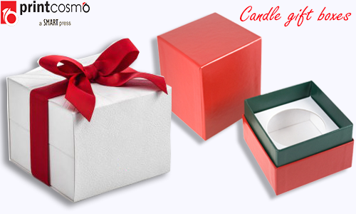 How to utilize the gift candle boxes?