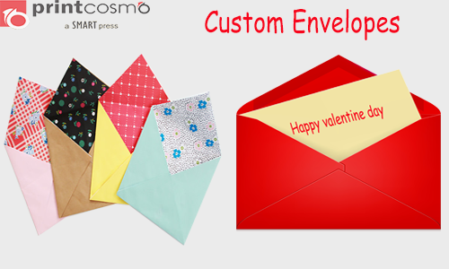 Custom Envelopes: Enhance Your Communication Through them