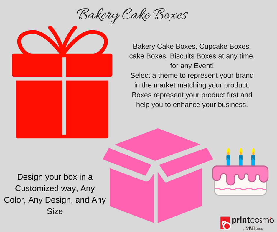 bakery cake box