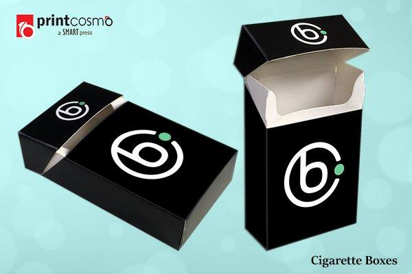 blank cigarette box