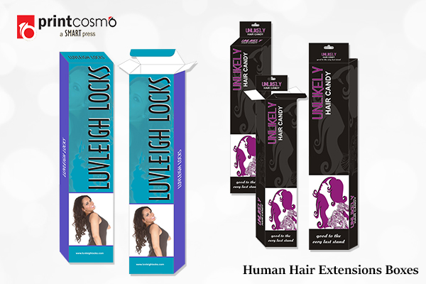 human hair extension boxes