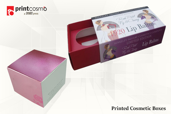 Custom printed cosmetic boxes – Why you should get them?