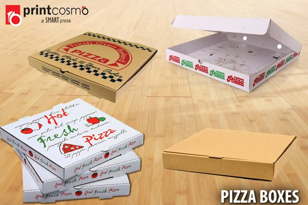 Pizza Boxes: 5 of the Most Unique Custom Pizza Boxes