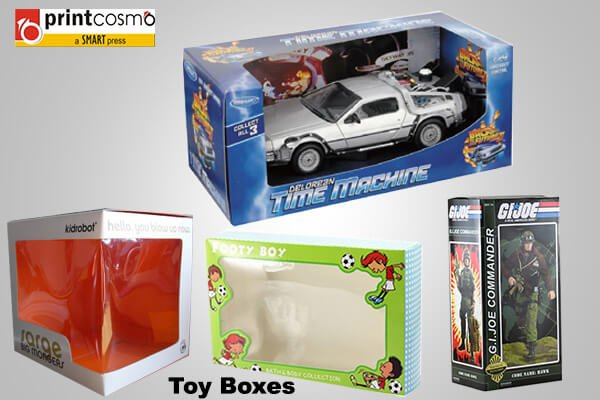 Toy packaging Boxes