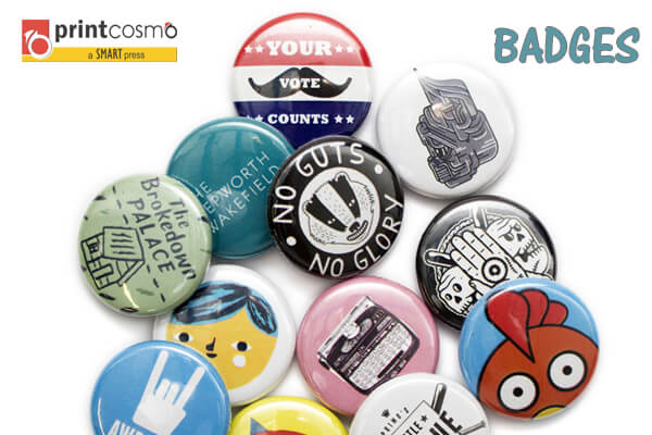 Use custom name badges printing for promotional activities