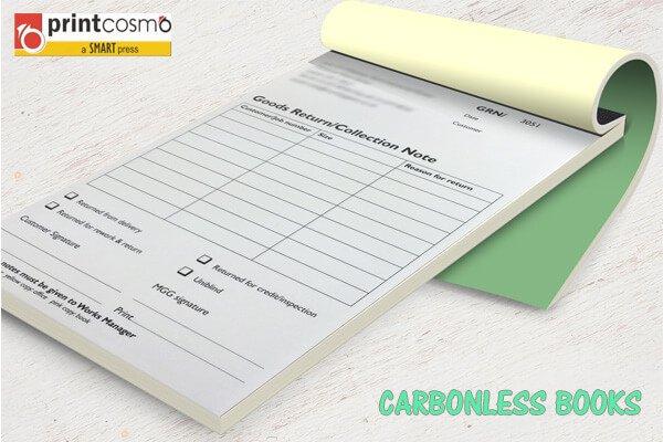 Carbonless Books