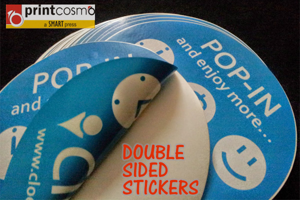 Advantages of Double Sided Stickers and See-through Stickers