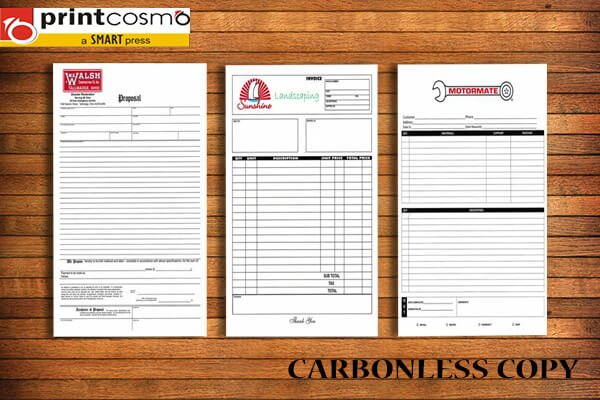 Carbonless Copy Printing